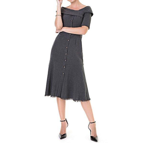 Vestido de Alfaiataria Sophia - Ref.:102613