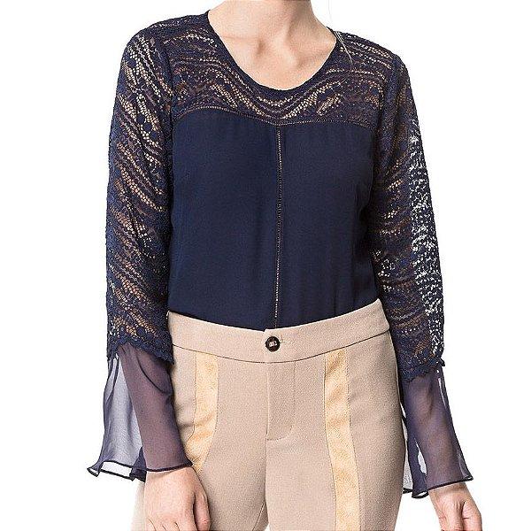 Blusa Renda Aconchego - Ref.:022971
