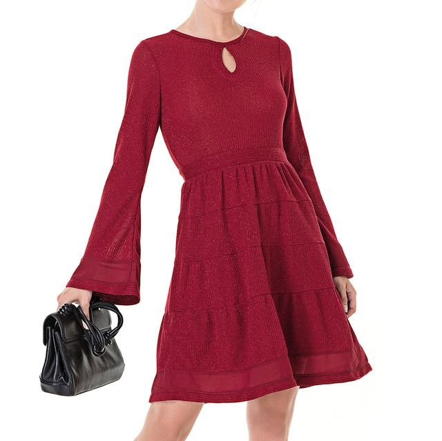 Vestido Midi Tricot Isabela - Ref.: 101041