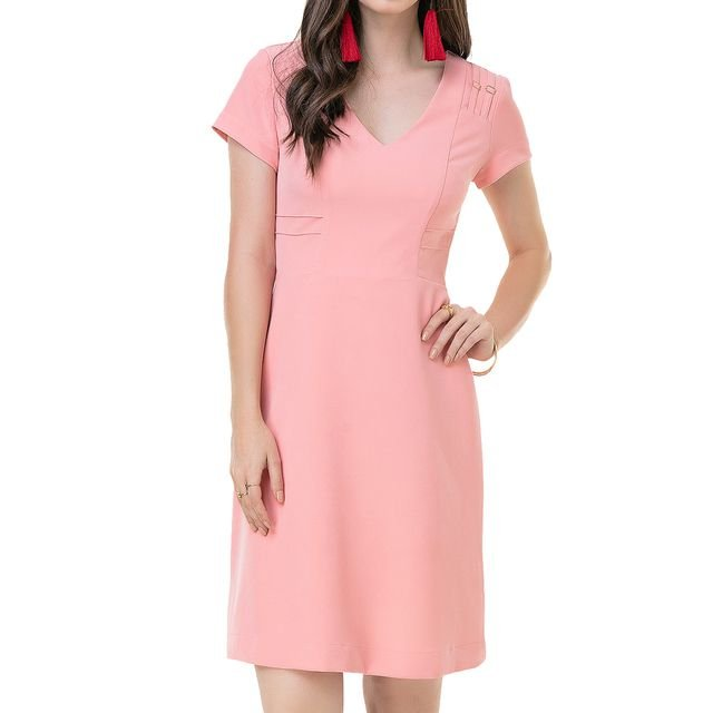 Vestido Secretário Sorriso no Olhar - Ref: 104626