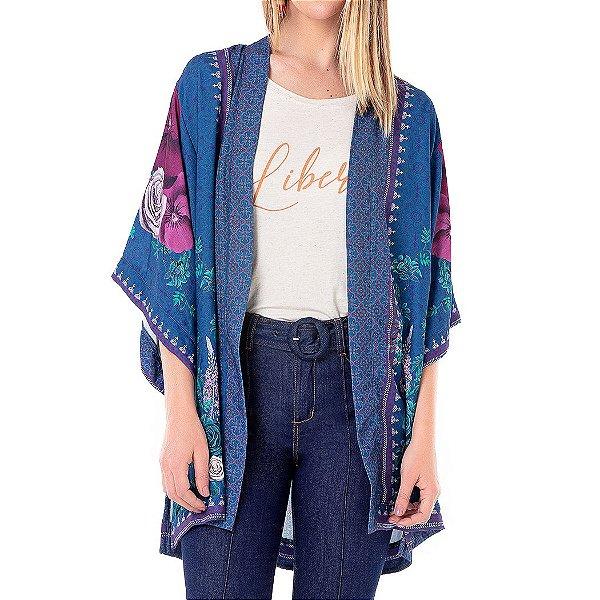 Kimono Vintage Liberdade - Ref.:061941