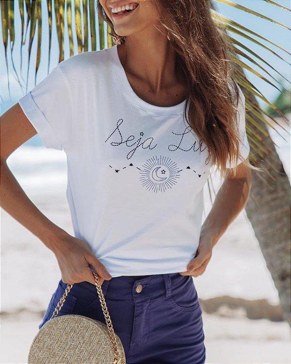 T-shirt Seja Luz Aura - Ref. 022913