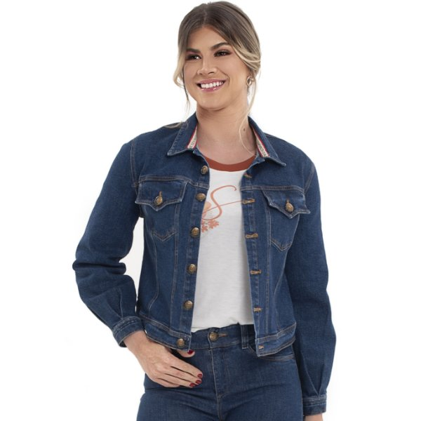 Jaqueta Jeans Brisa - Ref.: 067430