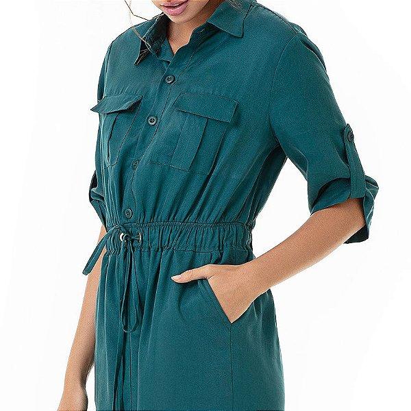 Vestido Midi Utilitário Gaia - Ref.:105933