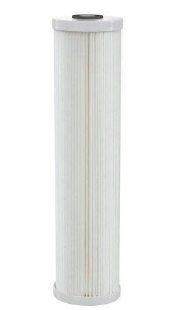 """Elemento Filtrante Plissado 5 Micra - Poly Flex Big 20"""" Hidro Filtros"""