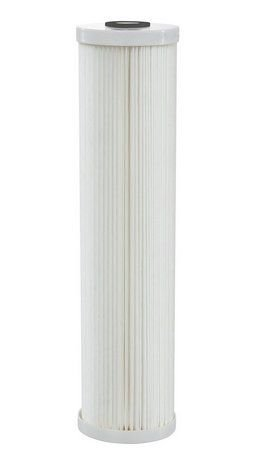 """Elemento Filtrante Plissado 50 Micra - Poly Flex Big 20"""" Hidro Filtros"""
