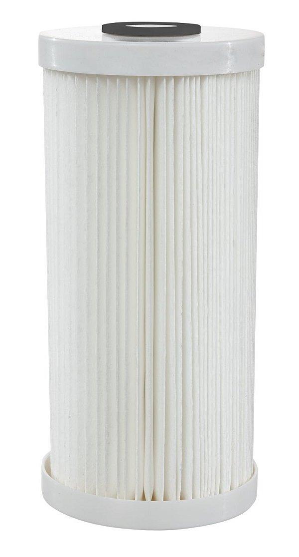 Elemento Filtrante Plissado BIG 25 Micra - Poly Flex 10 Polegadas - Hidro Filtros