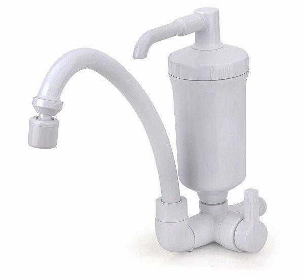 Torneira com filtro Pop Hidro Filtros - Branca