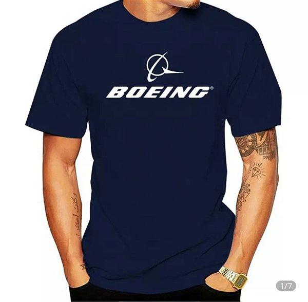 Camiseta Boeing Logo Alta