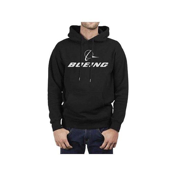 Moletom Logo Boeing