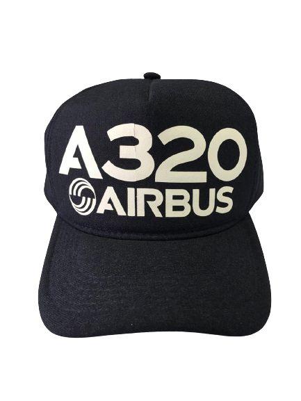 Boné A320 Airbus Preto