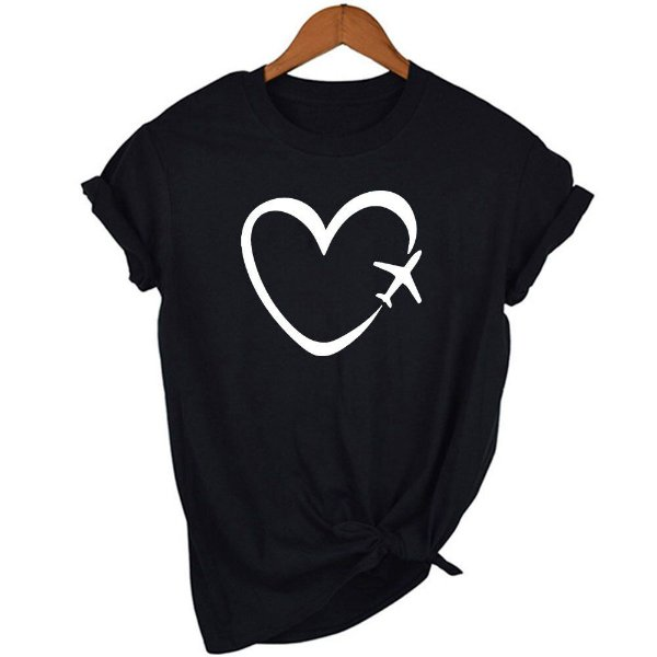 Camisa Aviador Feminina Preta