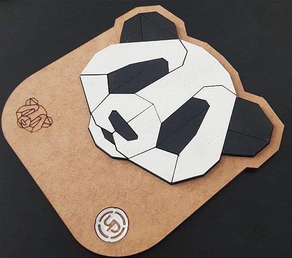 Quebra-cabeça Panda Brinquedo Pedagógico