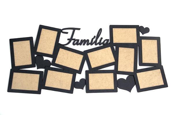 Porta Retratos Família Clássico - 11 Fotos