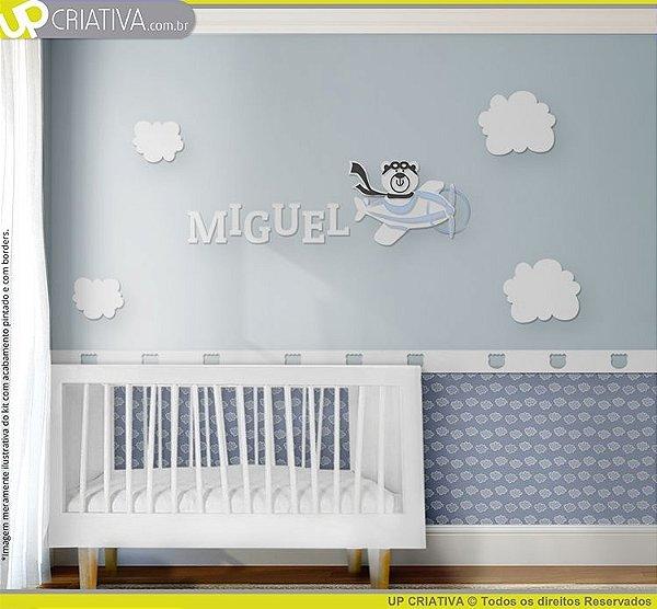 114ef5352 Tema Urso Aviador - Decore o quarto do seu bebê! | Upcriativa.com.br ...