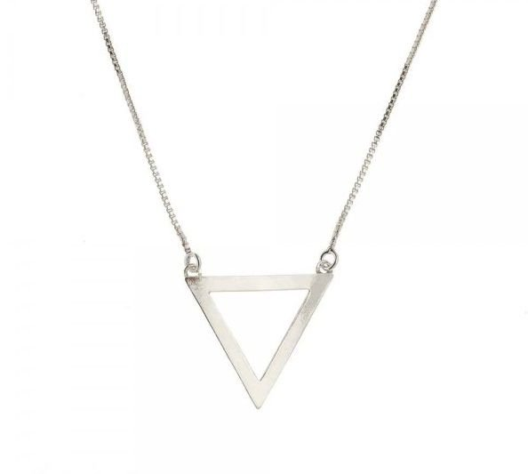 Gargantilha Triângulo vazado
