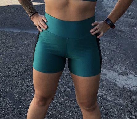 Shorts Ciclista Cirrê - Verde
