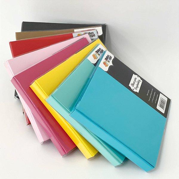 Álbum para Scrapbook (Oficina do papel)