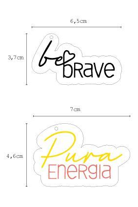 Acrílico - Be Brave (Coleção Mais boas Vibrações) - It Lov
