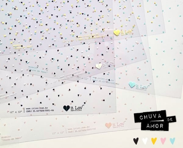 Transparências - Coleção Simples Assim ( Chuva de Amor) It Lov