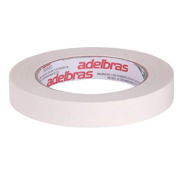 Fita Dupla Face Acrílica Transparente  9mm -  Adelbras