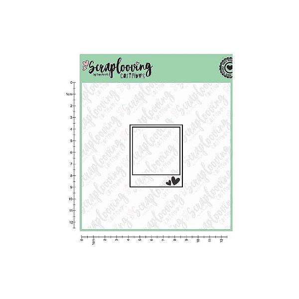 Cartela de Carimbo - Polaroid (Scraplooving)