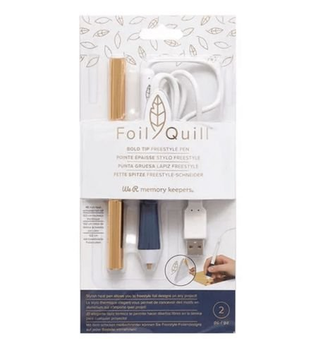 Caneta Freestyle Foil Quill - Bold Tip ( WeR)