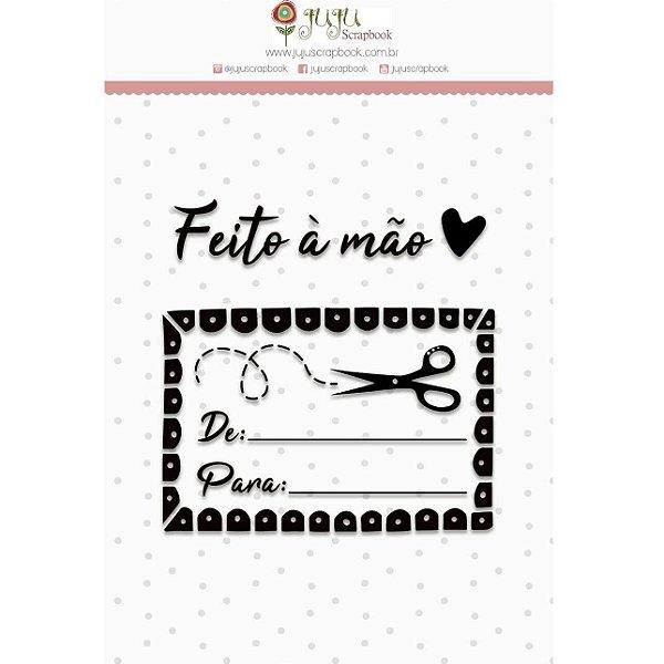 Carimbo - Feito à Mão (Love Scrap) Juju Scrapbook