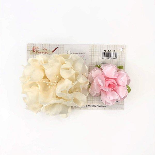 Flores em tecido (Poesia) Dany Peres
