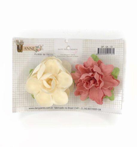 Flores em Tecido ( Simplesmente Anne) Dany Peres