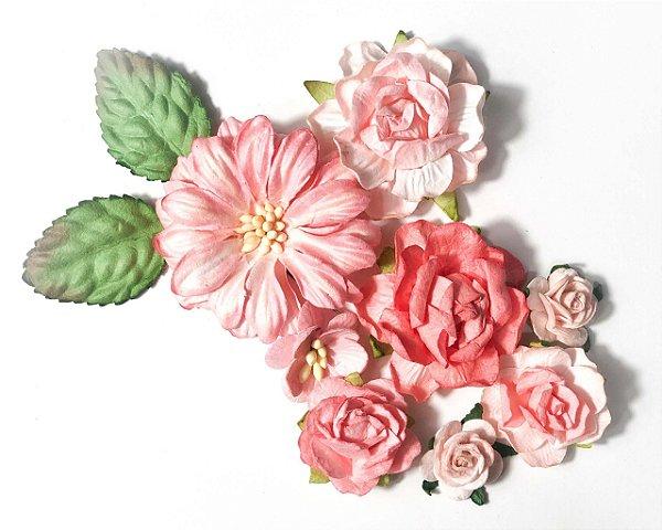 Flores de Papel  (Carina Sartor)