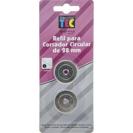Refil para cortador circular de 28mm Toke e Crie