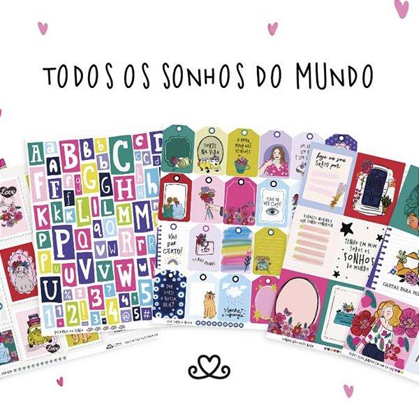 Kit de Papéis | Coleção Todos os Sonhos do Mundo AC