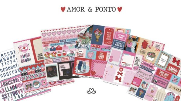 Kit de Papéis | Coleção Amor e Ponto AC