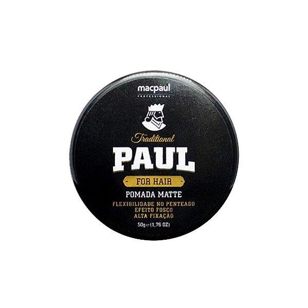 POMADA MATTE TRADITIONAL PAUL 50G