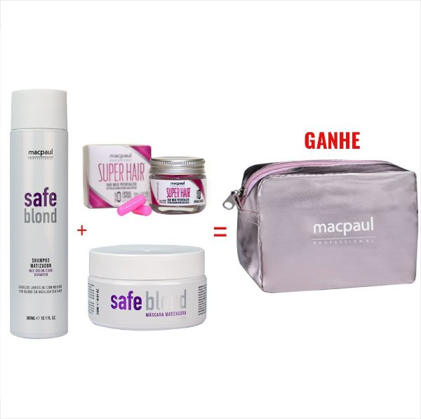 Combo Promocional Safe Blond