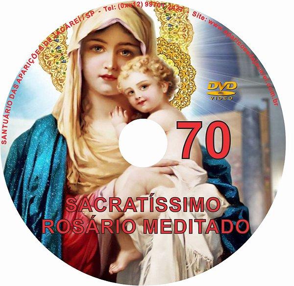 DVD ROSÁRIO MEDITADO 70