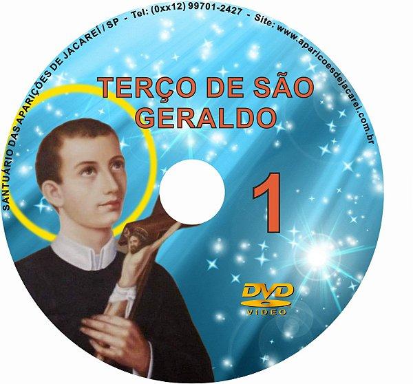 DVD TERÇO DE SÃO GERALDO