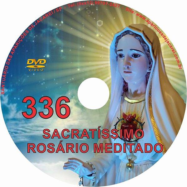 DVD ROSÁRIO MEDITADO 336