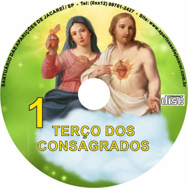 CD TERÇO DOS COSAGRADOS