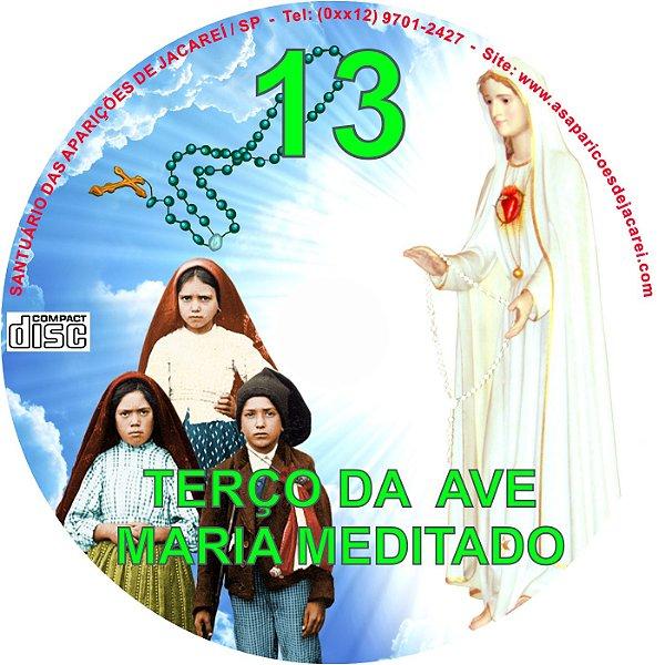 CD TERÇO DA AVE MARIA MEDITADO 13