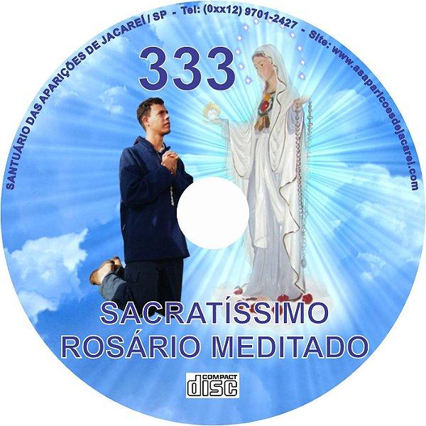 CD ROSÁRIO MEDITADO  333