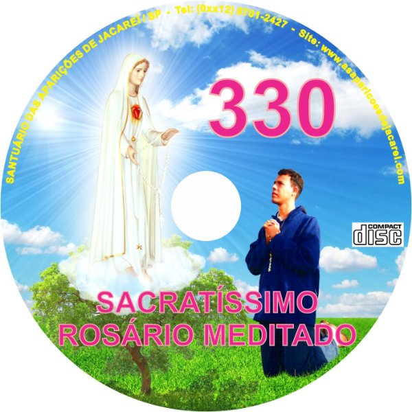 CD ROSÁRIO MEDITADO 330