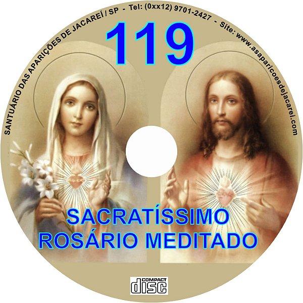 CD ROSÁRIO MEDITADO 119