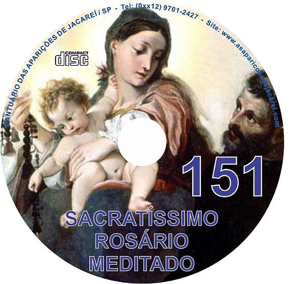 CD ROSÁRIO MEDITADO 151