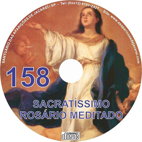 CD ROSÁRIO MEDITADO 158
