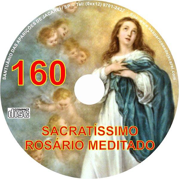 CD ROSÁRIO MEDITADO 160