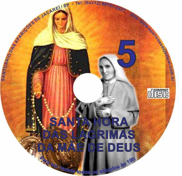 CD SANTA HORA DAS LÁGRIMAS DA MÃE DE DEUS 05
