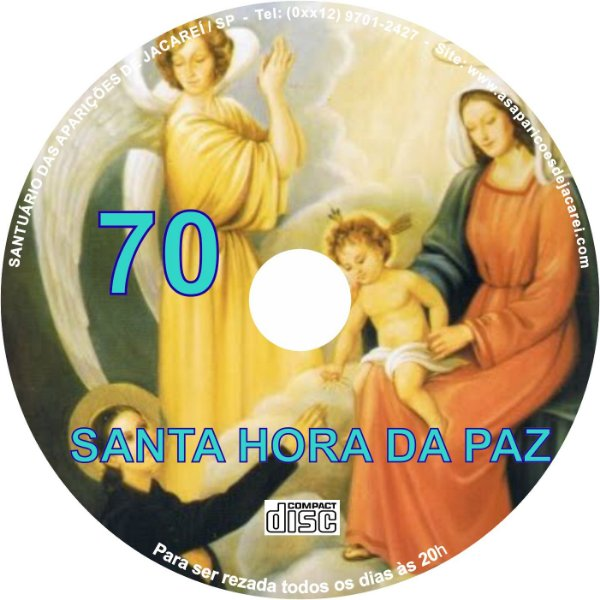 CD SANTA HORA DA PAZ 070