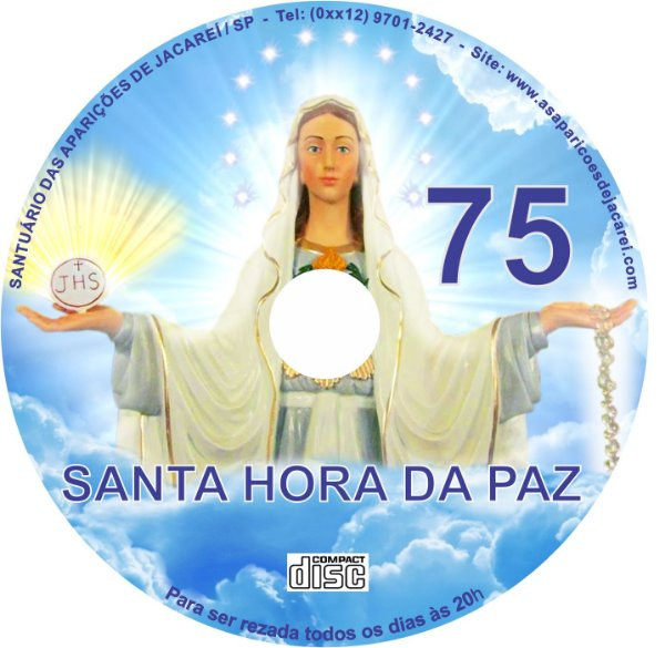CD SANTA HORA DA PAZ 075